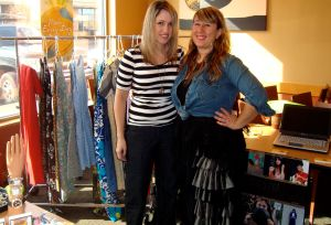 Ashley Boynes and Nicole Couch of Crazy Hot Clothes