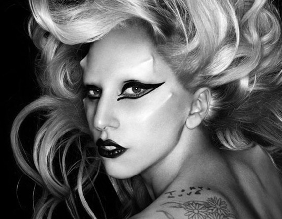 lady gaga born this way video premiere. Lady Gaga is a walking set of
