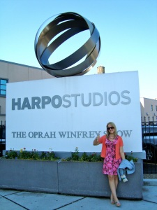 Glitzburgh's Ashley B at Harpo Studios!